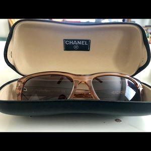 CHANEL Accessories - Chanel Brown sunglasses